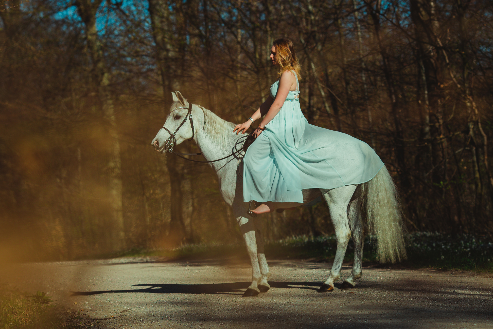 white-horse-photography-pretty-dress-sara-kroell-andersen01