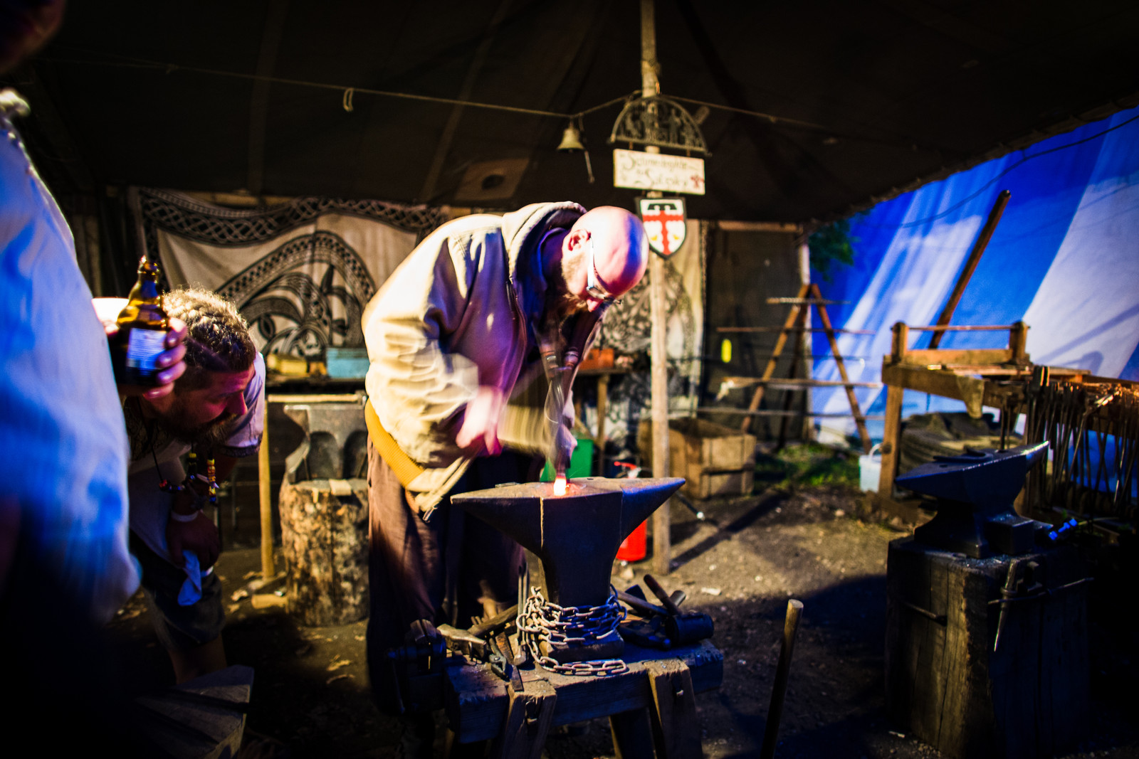 blacksmith-at-work-medieval