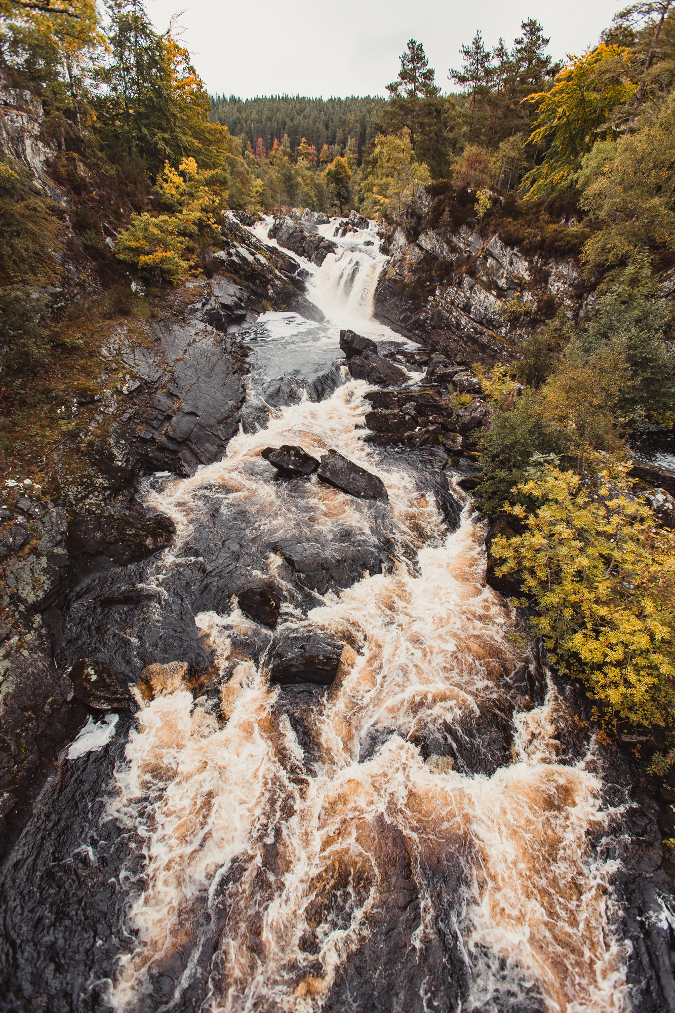 scotland-waterfalls-rogie-falls