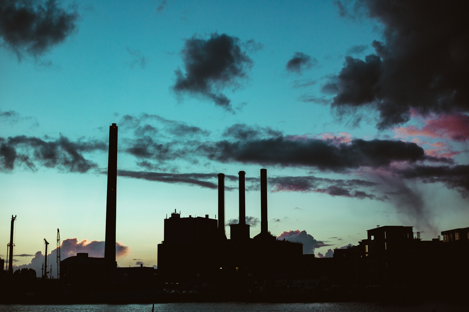 copenhagen-chimneys-sunset